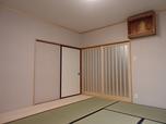 壁断熱効果で暖か和室