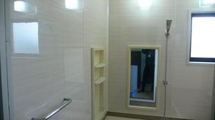 浴室 セキスイユニットバス 壁面等部分リフォーム