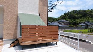松江市 M様邸 熱い日差しにスタイルシェード