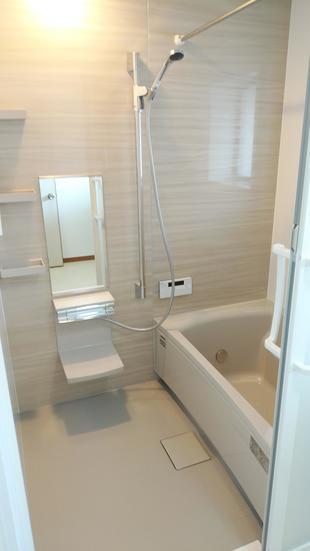 松江市 タイル張り浴室からシステムバスへ