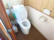 トイレ取り換え工事