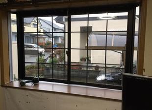 筑前町山隈 窓の結露を軽減リフォーム