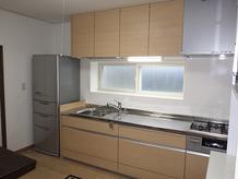 キッチン改装 和室を洋室にリフォーム