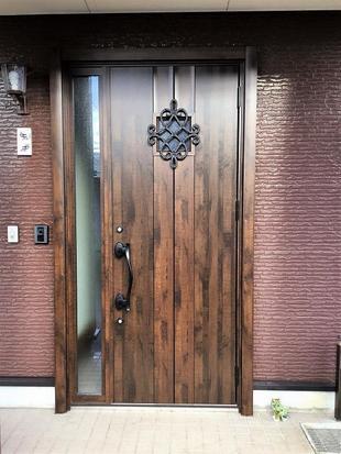 1Dayリフォーム 玄関ドア交換