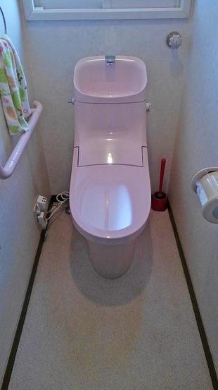 トイレの交換でお掃除しやすく節水に