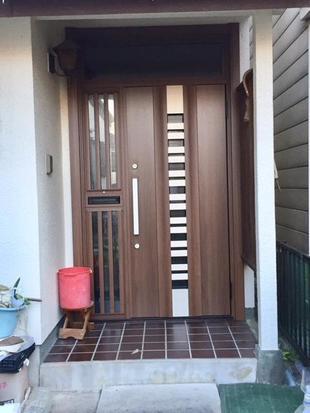 リフォーム用 玄関ドア リシェント