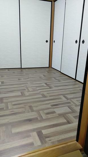 和室の畳を床へ取り換え!
