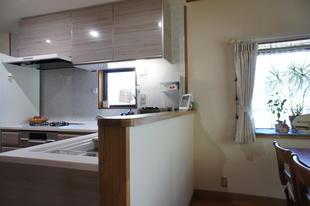 念願の対面式キッチンにリフォーム!
