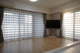 新築マンションのカーテン施工事例