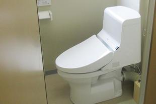 託児所にトイレを増設しました
