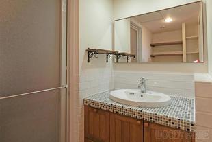 市原市 可愛い洗面と使い易い浴室 デザインにこだわった水回りリフォーム