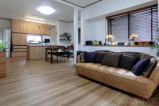 市原市 間取り変更とリノベーションで造る二世帯住宅と家族が集まるLDK
