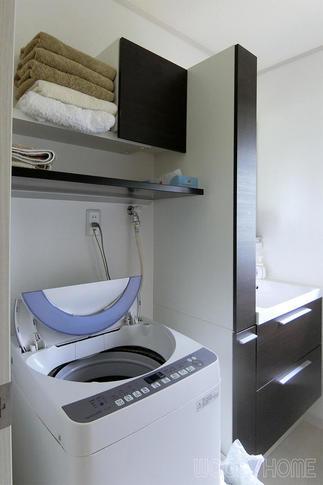 洗面化粧台の入れ替え