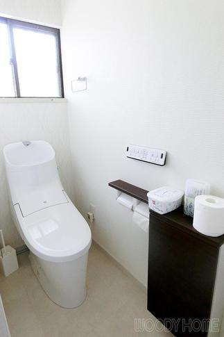 掃除がラクで使用水量の少ないトイレ