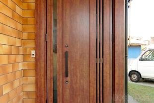 市原市 断熱性能向上・採風もできる玄関扉へのカンタンリフォーム