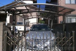 市原市 破損したカーポートの交換リフォーム