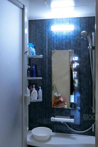 浴室のカウンター部