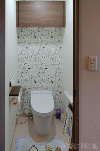 全て一新、使いやすく清潔感溢れるトイレルーム