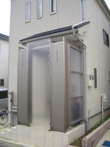 (玄関)エントランスポ-チ取付工事