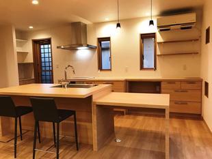 ライフスタイルの変化と共に、家もより快適にリノベーション。