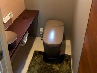 大人雰囲気のモダントイレ