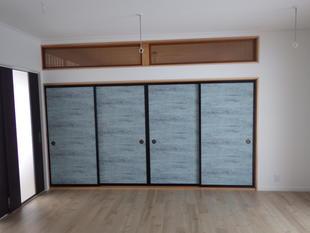 M様邸の寝室・玄関部改装工事1