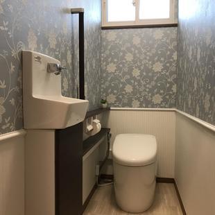 住宅街に佇む邸宅~2Fトイレ~