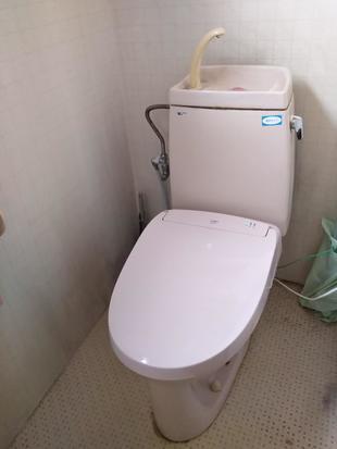 シャワートイレ交換工事