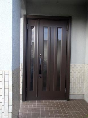 玄関リフォーム5【リシェントⅡ】