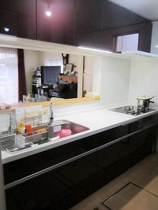 越谷市 戸建て「こだわりの美しいキッチン」