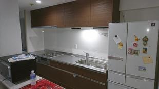 越谷市 マンション『キッチン取替工事』