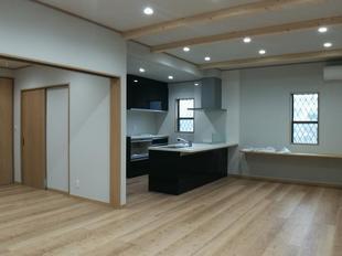 越谷市 新築二世『キッチンが中心のオシャレなLDKで第2の生活を』