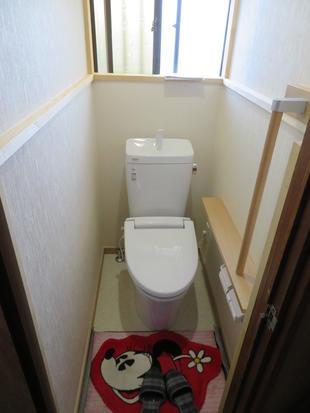 使い勝手が不便になったトイレをリフォーム