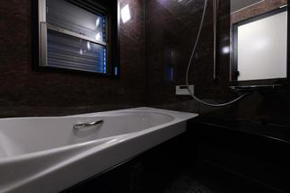 ホテルのバスルームのような癒しの空間
