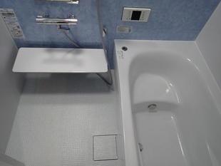 お風呂と一緒に、昔から憧れてたタイルの洗面化粧台にして本当に良かった
