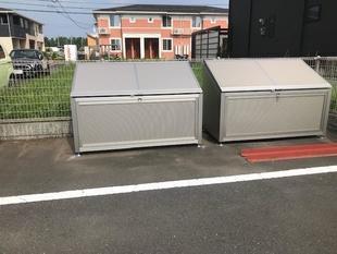 宮崎市O会社様:ゴミ収納庫設置工事