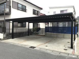 宮崎市塩見町Y様邸:カーポート設置工事