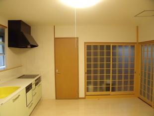 T様邸 室内改修工事(キッチン ガスからIHへ)