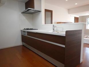 新しくキッチン・ユニットバス・トイレがつきました!
