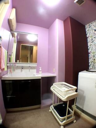 洗面脱衣室がこんなにも楽しい空間になりました