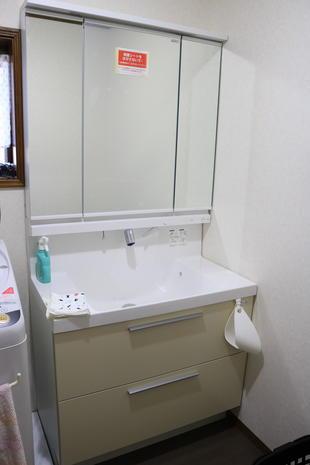 袋井市I様邸 リフォーム 洗面化粧台