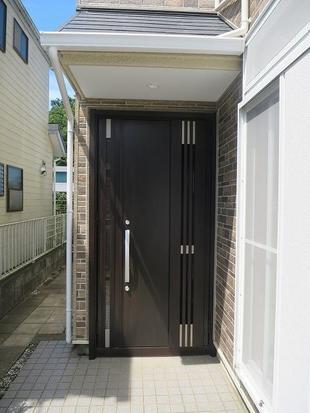 白井市 玄関ドア交換工事