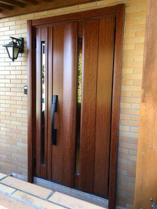 玄関ドア交換工事 リシェント