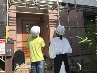 お施主様 初めての外壁塗装工事