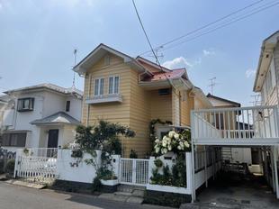 白井市 鮮やかでツヤツヤピカピカ 外壁・屋根塗装工事