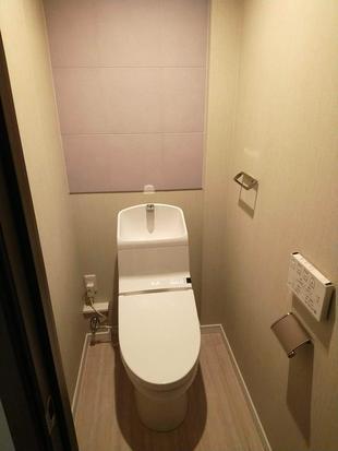 新築戸建住宅のトイレにエコカラット