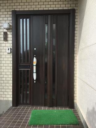 大牟田市 B様邸 リフォーム工事~玄関ドア編~