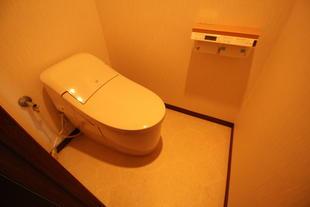 厚木市M様邸 スッキリデザインのトイレで快適です!