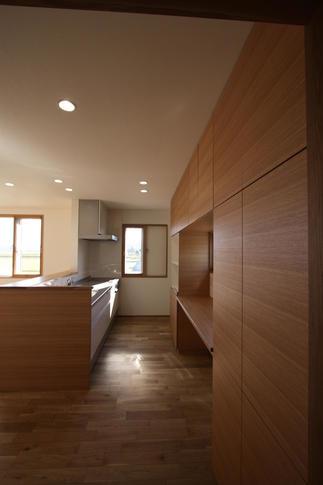 キッチンスペースを増築