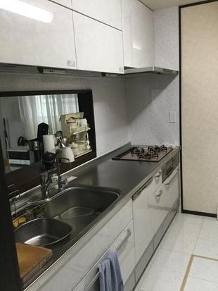 思い通りに便利な機能を満載にしたキッチン